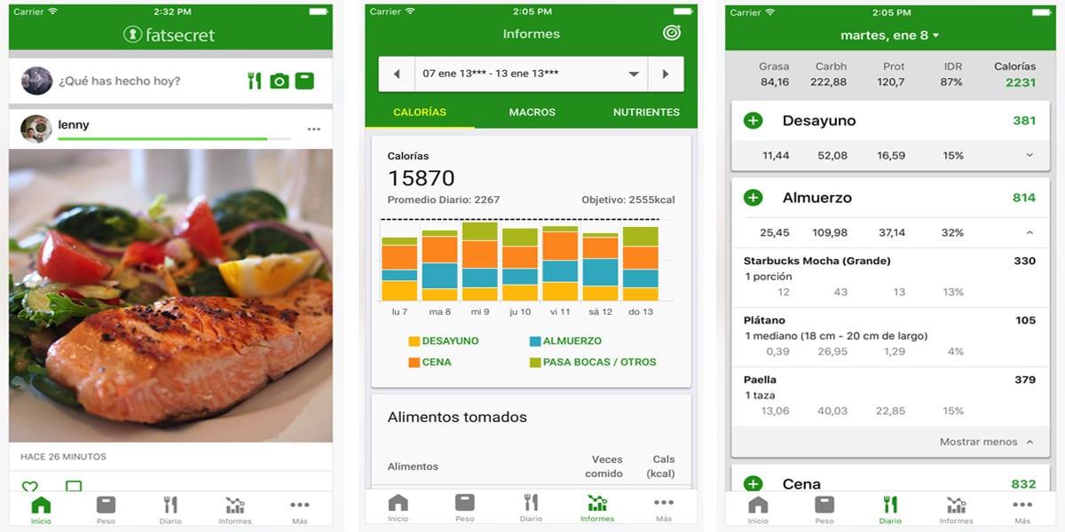 app contador de calorias