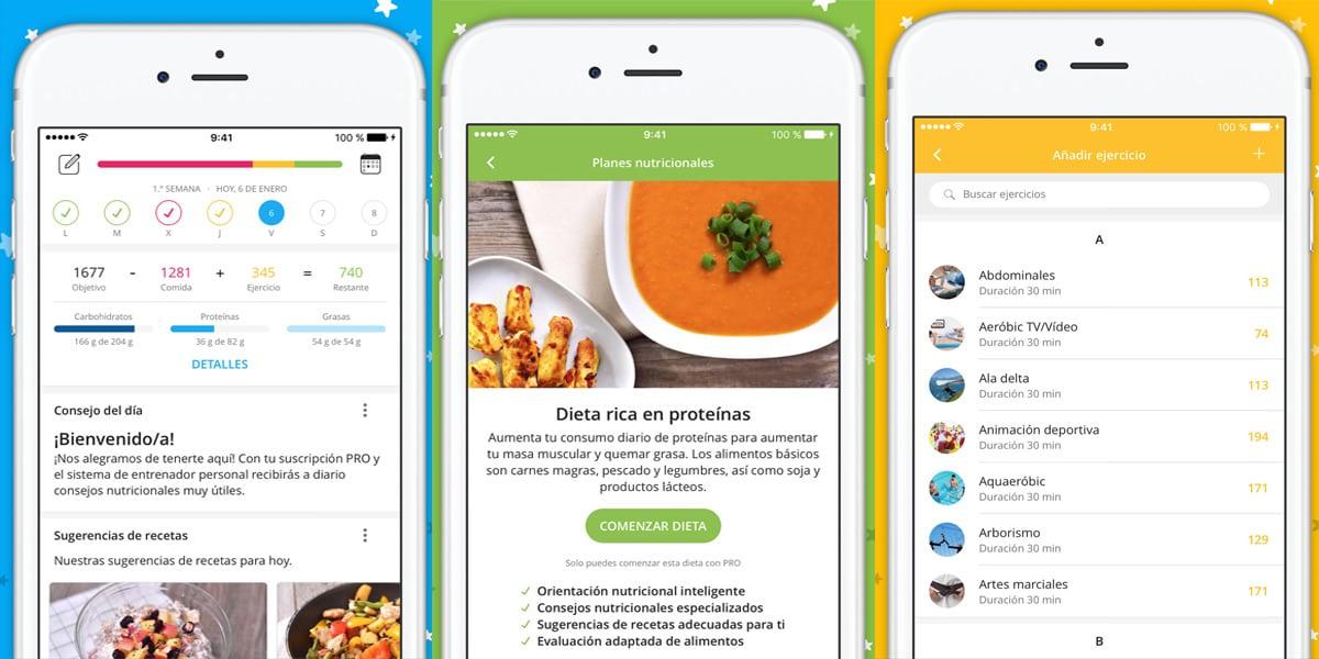 4 apps para calcular las calor as que consumes al d a - Calcular calorias de los alimentos ...