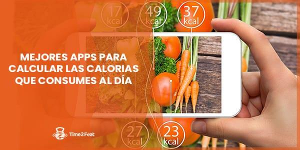 mejores apps aplicaciones contador calorias kcal alimentos