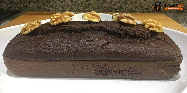 receta fitcocho chocolate nueces