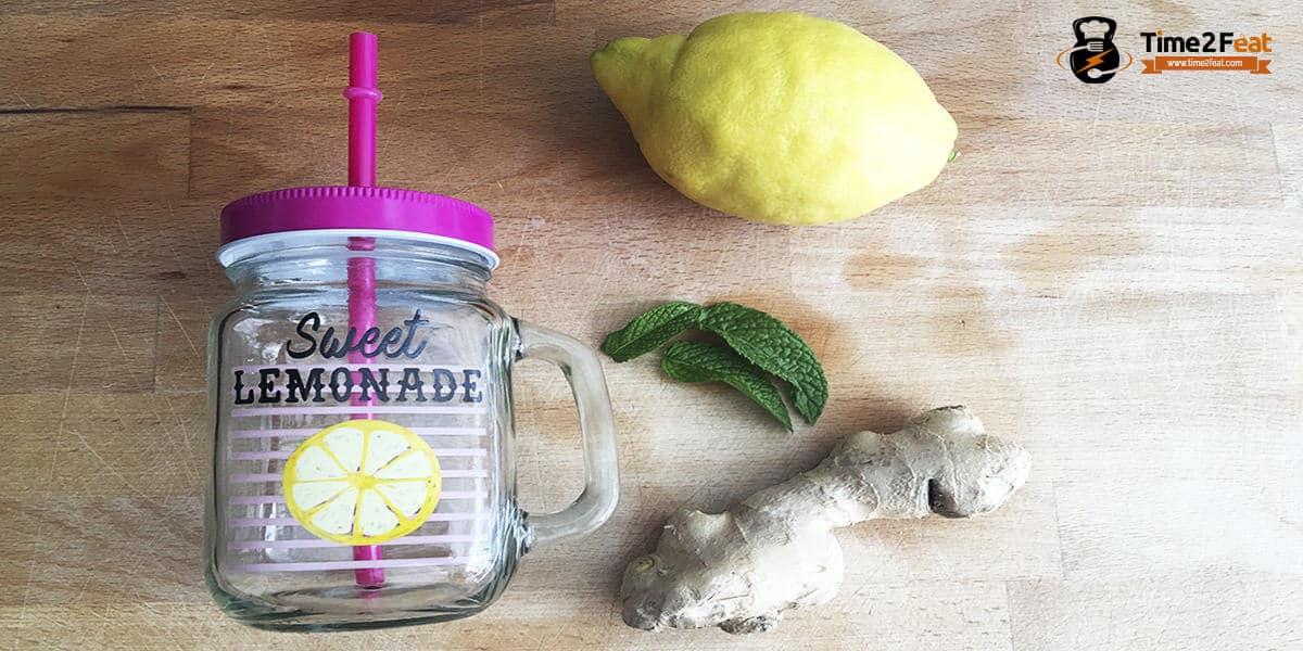 receta limon jenjibre ayunas