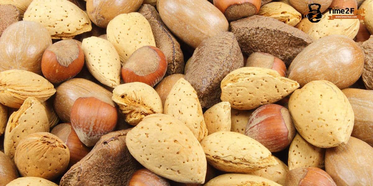 mejores alimentos bajar de peso frutos secos