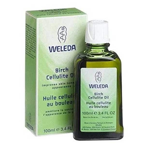 celulitis cremas anticeluliticas aceite abedul weleda