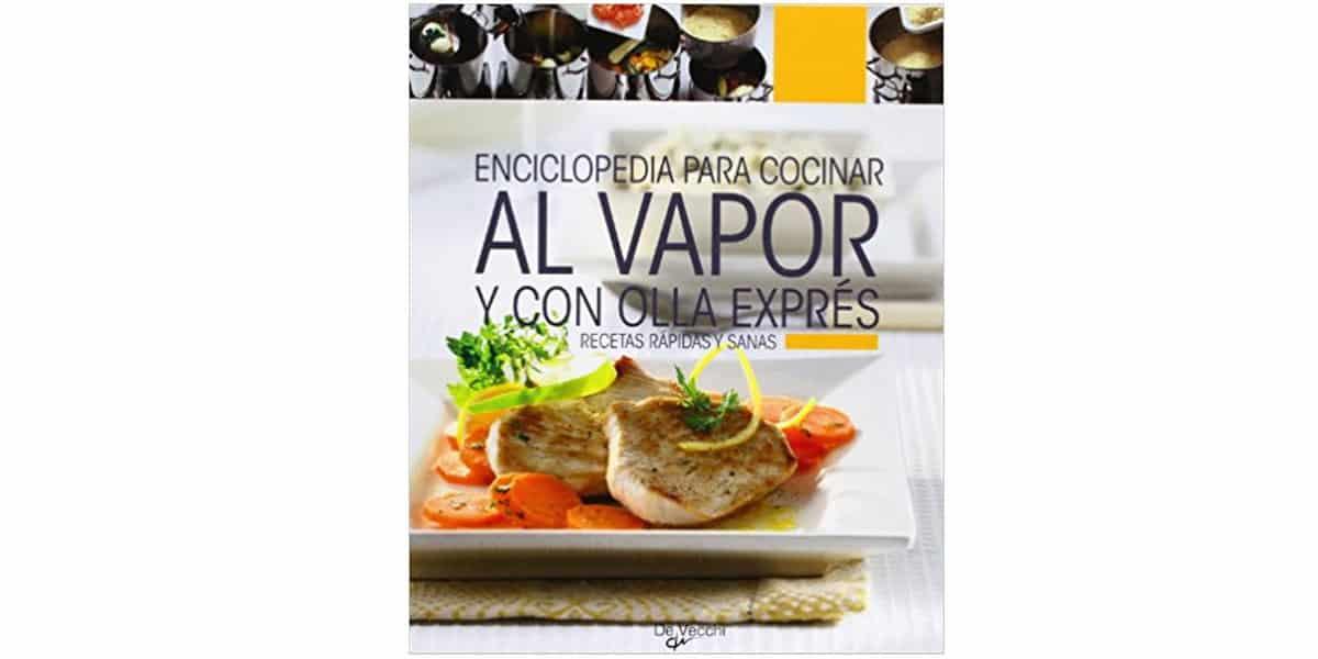 cocinar al vapor libros recetas enciclopedia cocinar vapor olla exprés vecchi