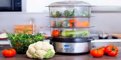 cocinar al vapor verduras