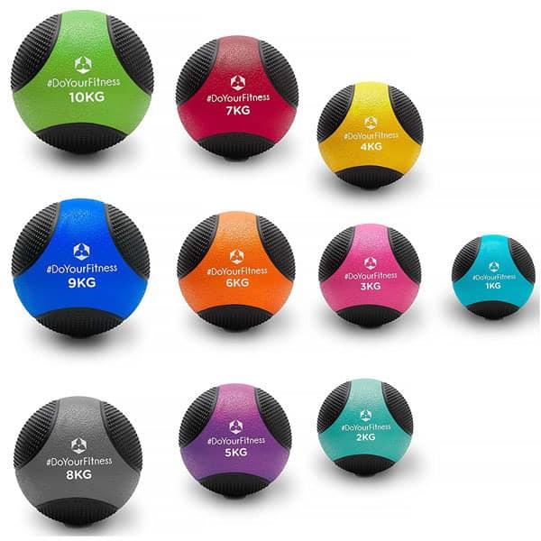 mejores accesorios gimnasio en casa balon medicinal medicus