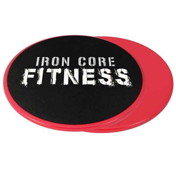 mejores accesorios gimnasio en casa discos deslizantes iron core fitness