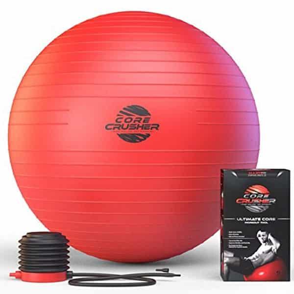 mejores accesorios gimnasio en casa fitball balon suizo corecrusher