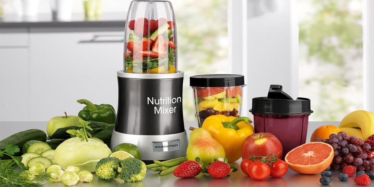 smoohies batidos frutas verduras maquinas batidoras licuadoras gourmet maxx 04201 nutrition mixer