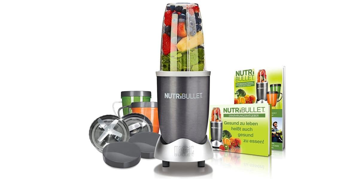 smoohies batidos frutas verduras maquinas batidoras licuadoras nutribullet nbr 1240m