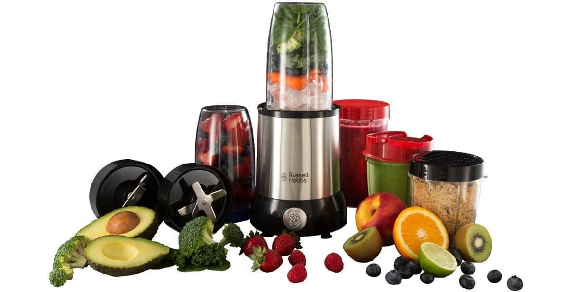 smoohies batidos frutas verduras maquinas batidoras licuadoras russell hobbs nutri boost 23180 56