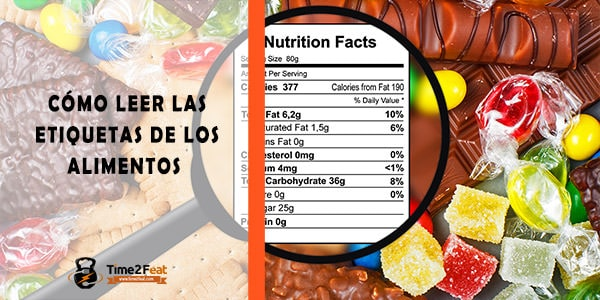 como leer etiquetas alimentos informacion nutricional