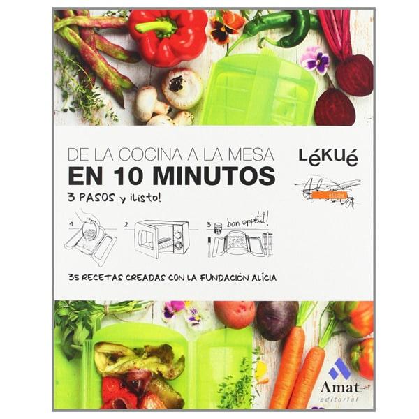 mejores libros recetas trucos lekue de la cocina a la mesa en 10 minutos
