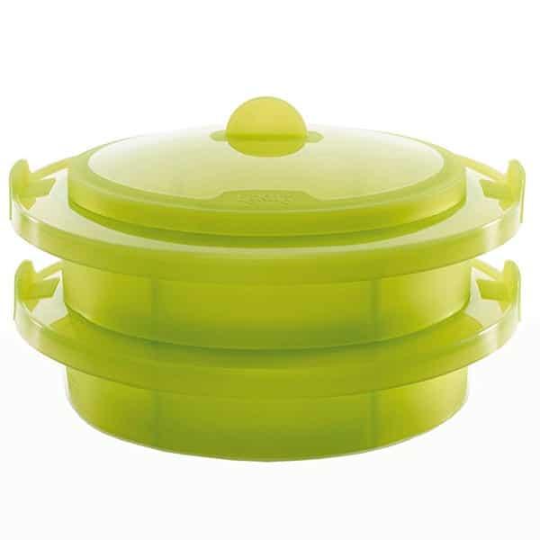 mejores productos utensilios cocina estuche vapor vaporera 2 niveles lekue