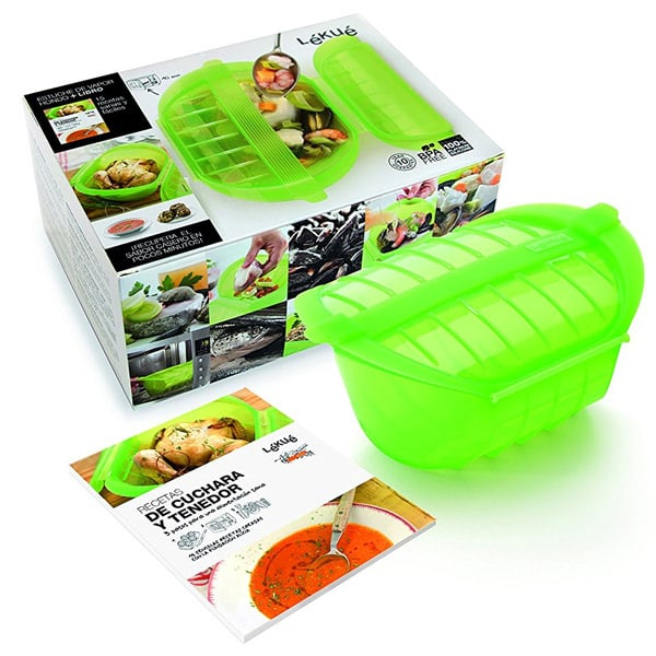 mejores productos utensilios cocina estuche vapor vaporera lekue kit