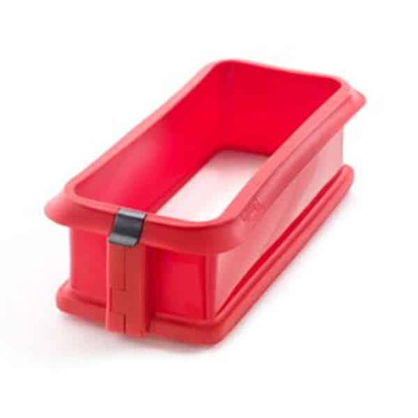 mejores productos utensilios cocina molde silicona desmoldable tarta bizcocho rectangular lekue