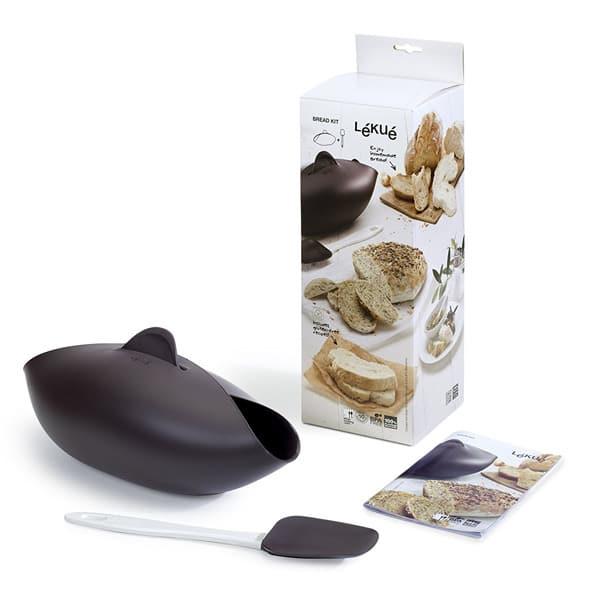 mejores productos utensilios cocina molde silicona pan panera lekue