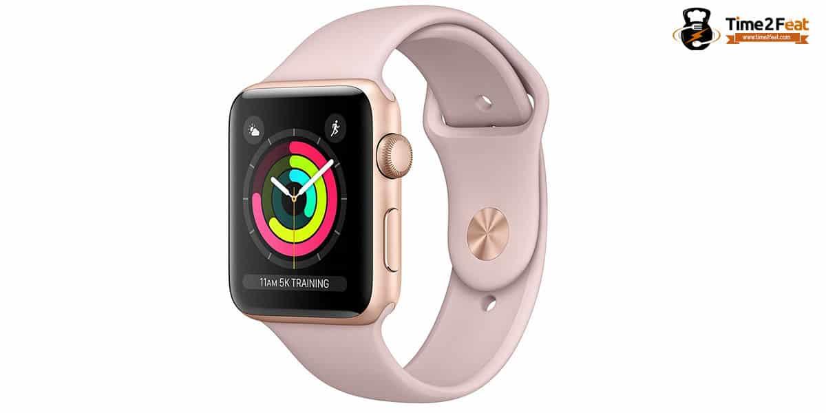 mejores pulsometros pulseras actividad apple watch series3