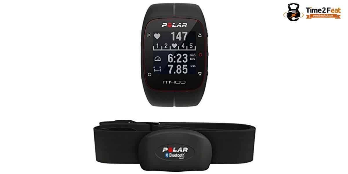 mejores pulsometros pulseras actividad polar m400 hr