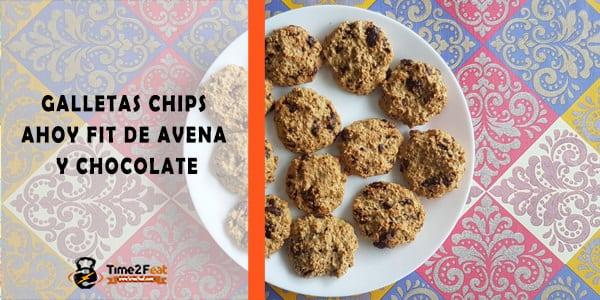 receta galletas avena chocolate chip ahoy