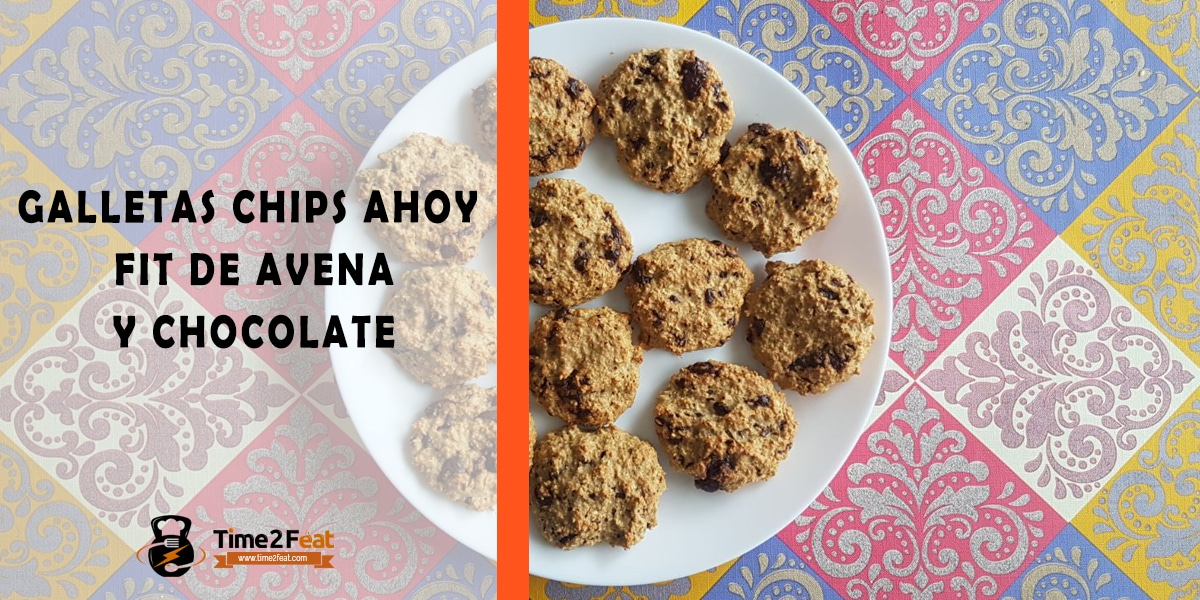 receta galletas avena chocolate chip ahoy
