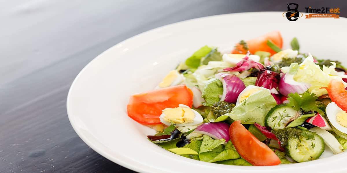 cenas ligeras rapidas saludables recetas ensalada colores