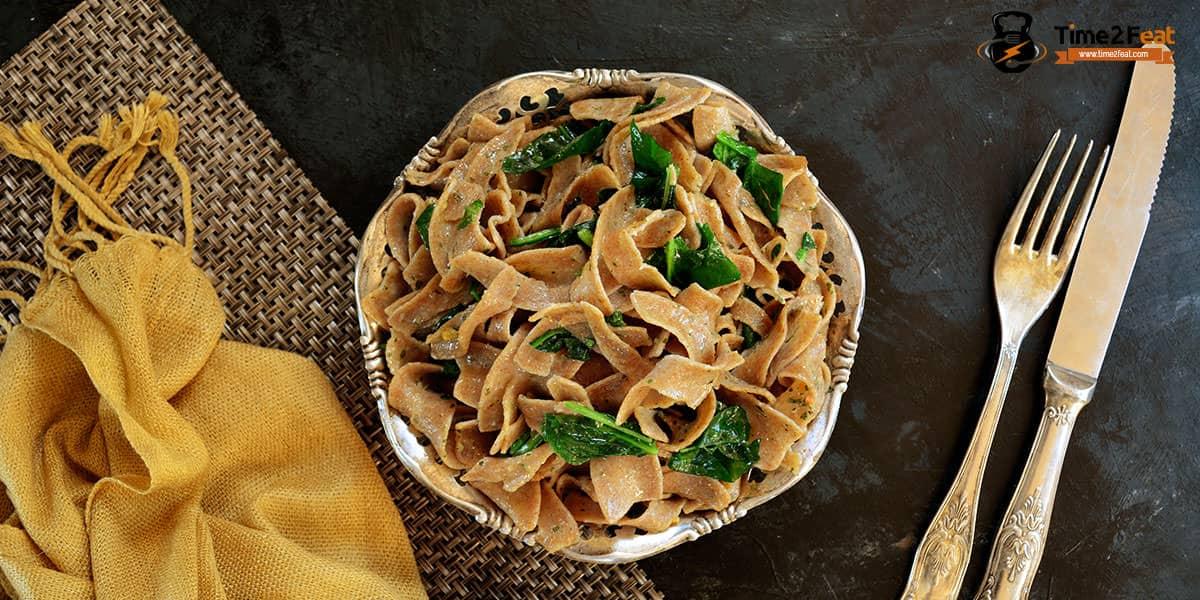 cenas ligeras rapidas saludables recetas tallarines integrales veduras soja
