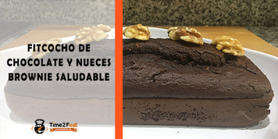 receta fitcocho chocolate nueces