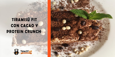 receta tiramisu saludable fit