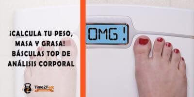 calcular masa grasa corporal basculas