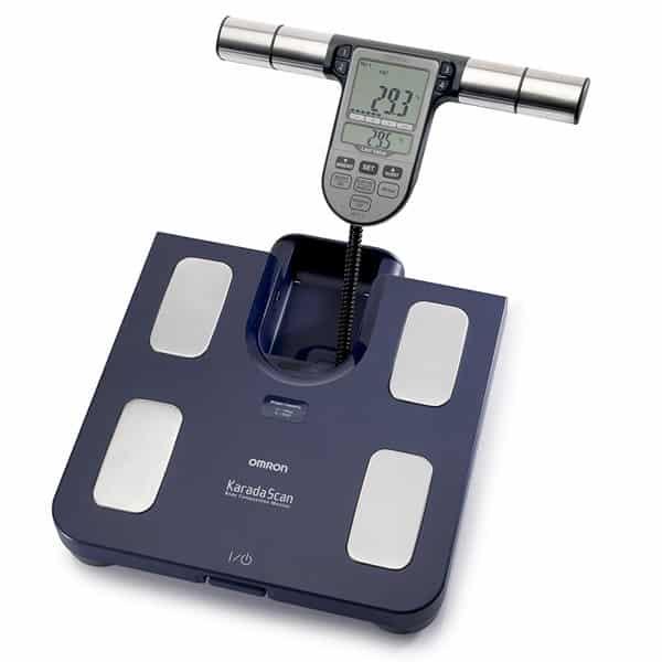 calcular masa grasa corporal basculas electronicas analisis corporal bioimpedancia omron
