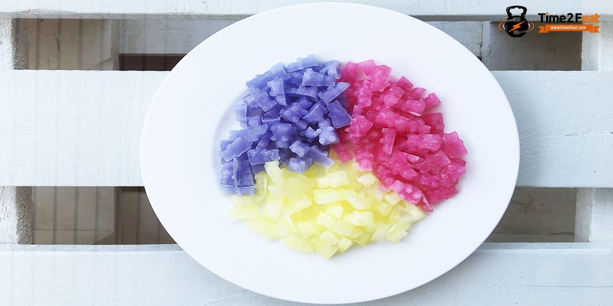 receta gominolas sin azucar caseras