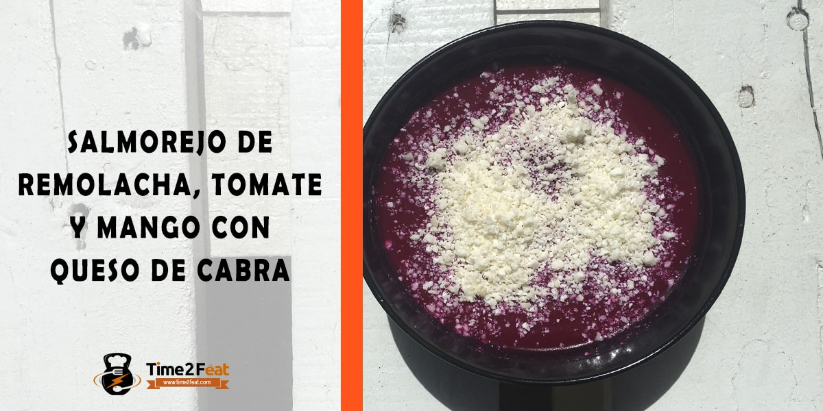 receta salmorejo remolacha tomate mango