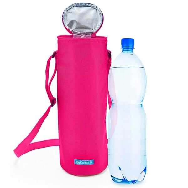 accesorios comida playa nevera termica botella agua iris