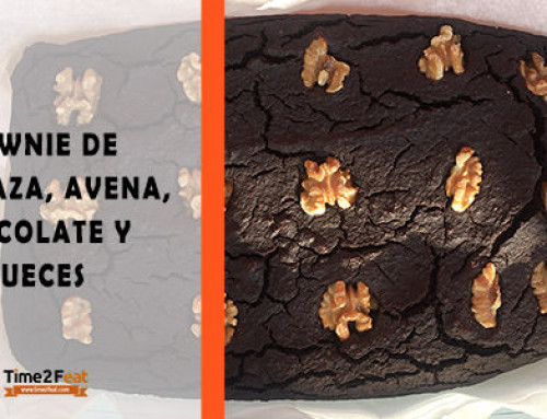 [RECETA] Brownie Saludable de Calabaza, Avena, Chocolate y Nueces