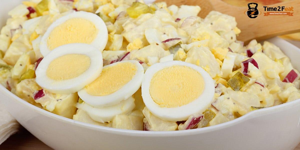 recetas playa saludables ensalada patata campera
