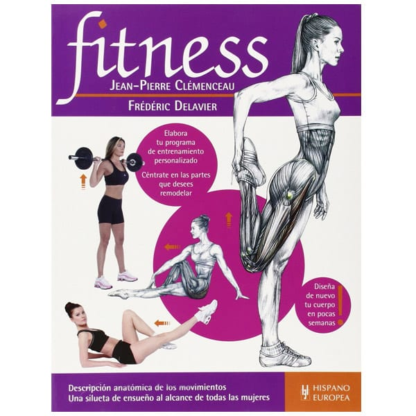 mejores libros fitness entrenamiento fitness jean pierre clemenceau frederic delavier
