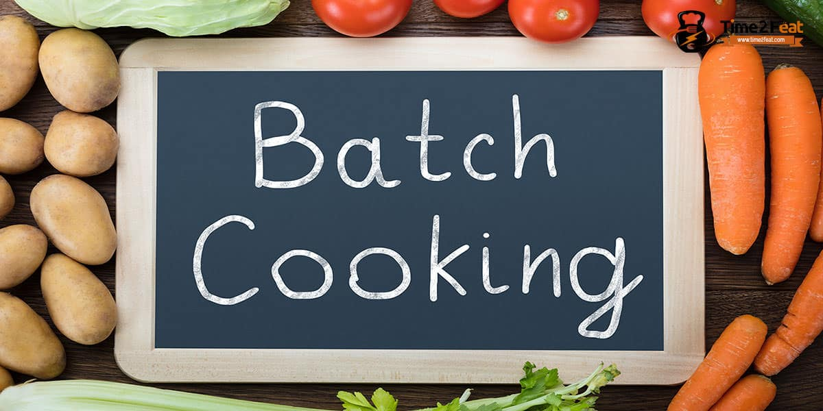 batch cooking planificar comidas saludables que es