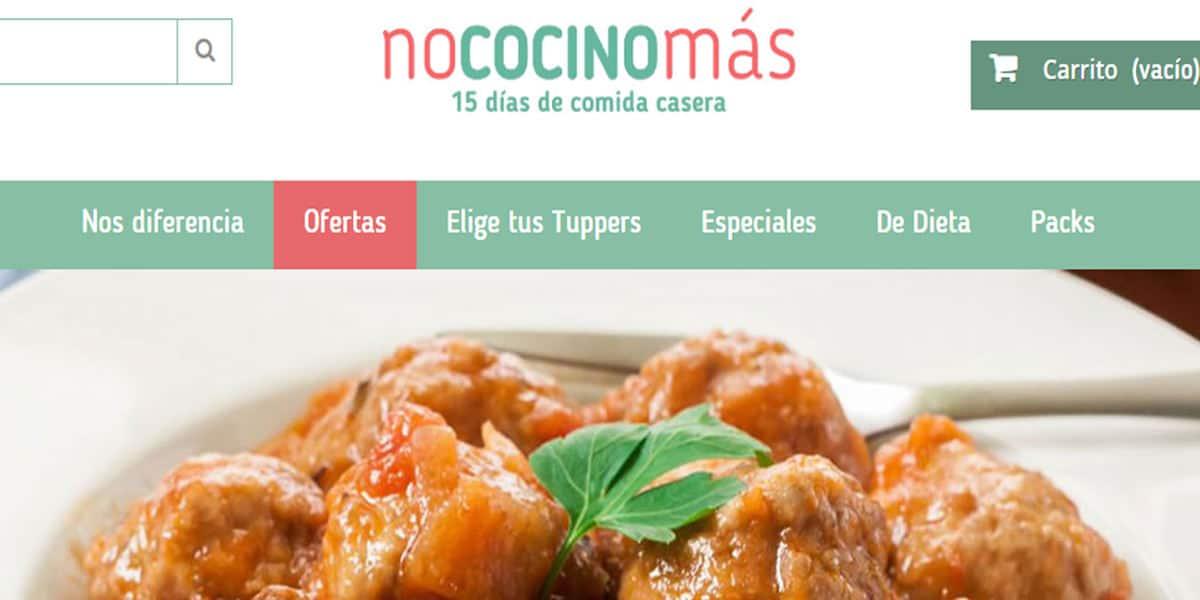 comida saludable tuppers dieta domicilio nococinomas