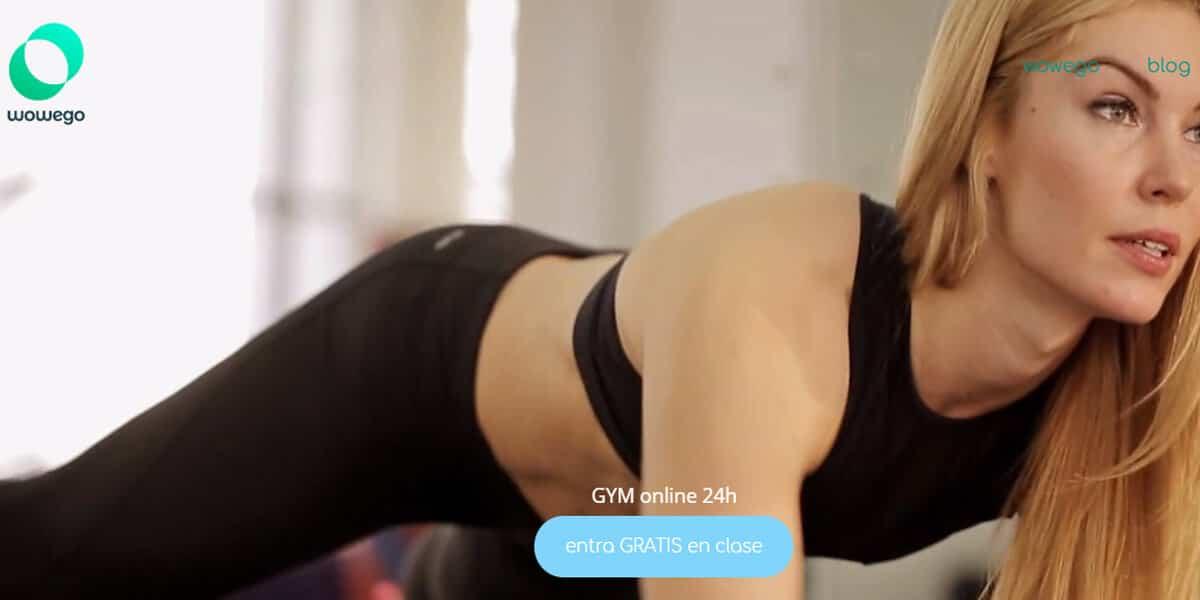 mejor gimnasio online gym virtual entrenar en casa wowego