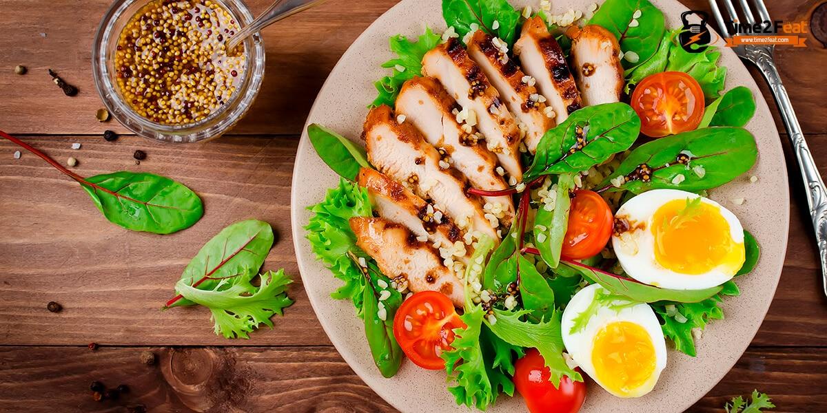 recetas ensaladas pollo verano