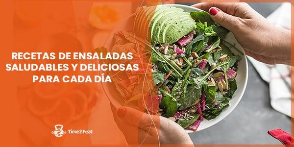 recetas ensaladas saludables ricas faciles rapidas