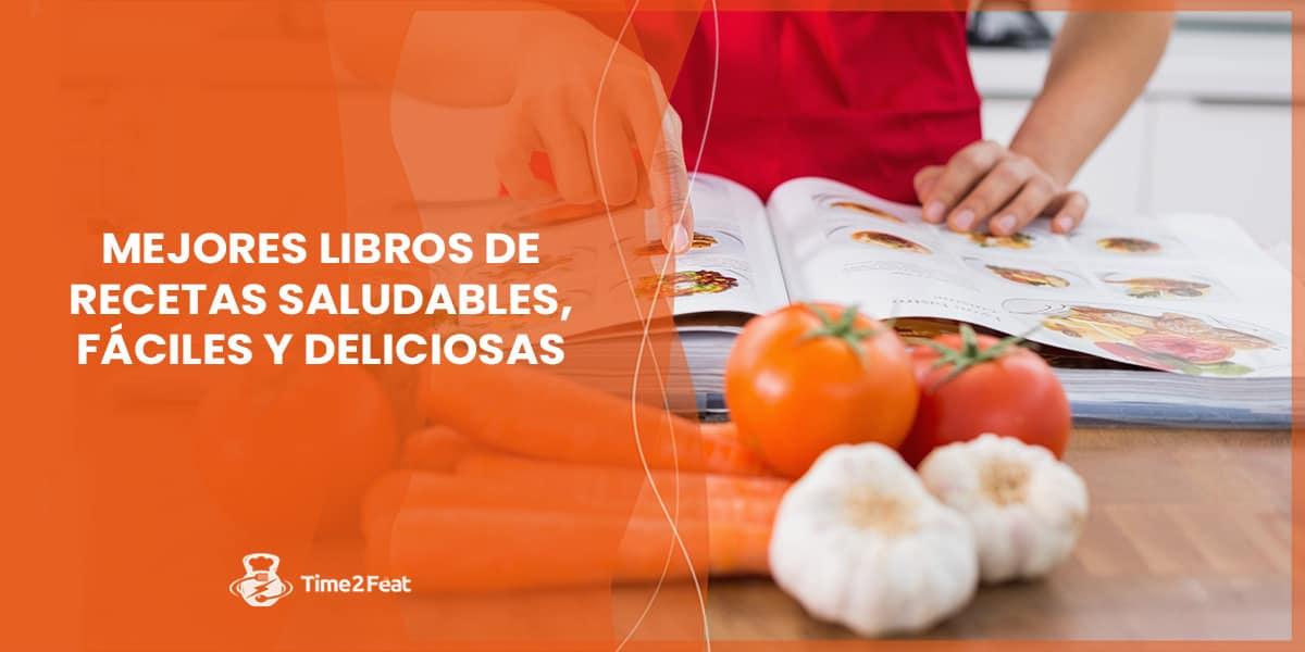 mejores libros recetas saludables sanas fitness