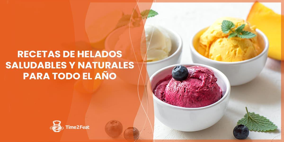 recetas helados saludables naturales caseros frutas