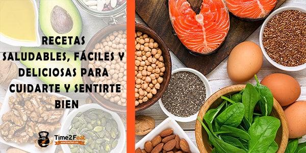 recetas saludables fáciles deliciosas