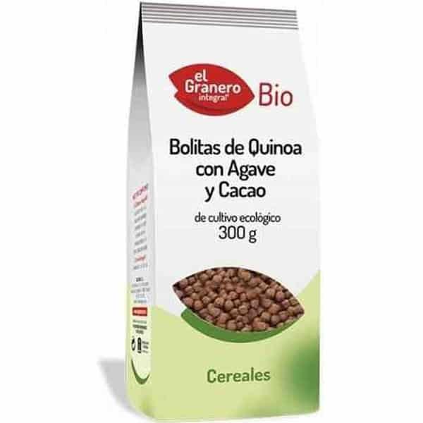 comprar quinoa propiedades beneficios preparacion bolitas quinoa ecologica agave cacao el granero integral