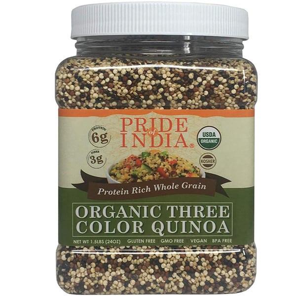 comprar quinoa propiedades beneficios preparacion pride of india