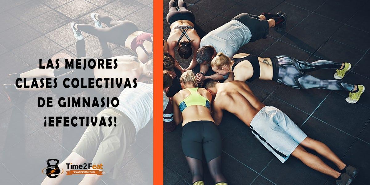 mejores clases colectivas gimnasio en grupo entrenamiento efectivas