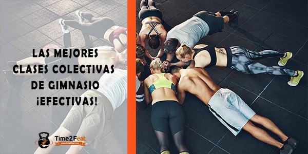 mejores clases colectivas gimnasio en grupo ejercicio entrenamiento efectivas