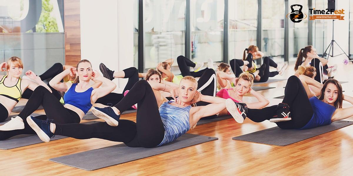 mejores clases colectivas gimnasio en grupo ejercicio entrenamiento efectivas abdominales